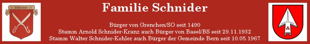 Familie Schnider